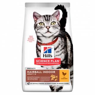 Hill´s science plan feline adult hbc for indoor cats chicken 10kg