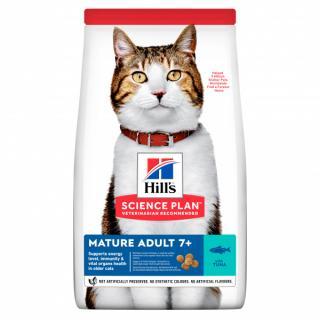 Hill´s science plan feline mature adult 7  tuna 10kg
