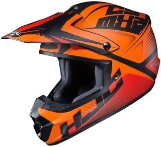 HJC CS-MX II Ellusion MC7SF L Přilba Orange L