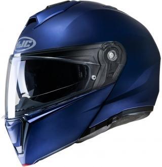 HJC i90 Semi Flat Mettalic Blue S Přilba S
