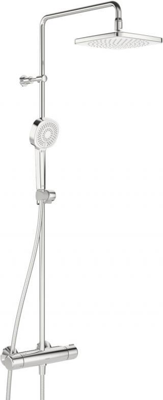 Hlavová sprcha HANSA STYLE, BASICJET na stěnu chrom 44350230 chrom chrom