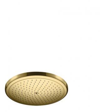 Hlavová sprcha Hansgrohe Croma leštěný vzhled zlata 26221990 ostatní leštěný vzhled zlata