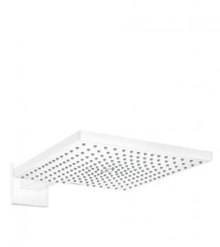 Hlavová sprcha Hansgrohe Raindance na stěnu včetně sprchového ramena matná bílá 26238700 bílá matná bílá