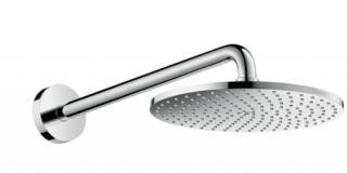 Hlavová sprcha Hansgrohe Raindance S na stěnu včetně sprchového ramena chrom 27607000 chrom chrom