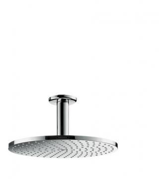 Hlavová sprcha Hansgrohe Raindance S strop včetně sprchového ramena chrom 27620000 chrom chrom