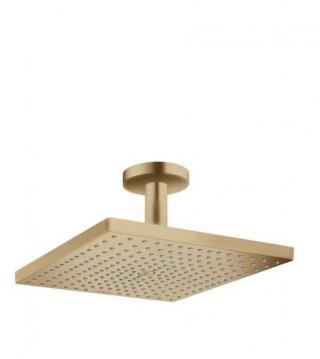 Hlavová sprcha Hansgrohe Raindance strop včetně sprchového ramena kartáčovaný bronz 26250140 ostatní kartáčovaný bronz