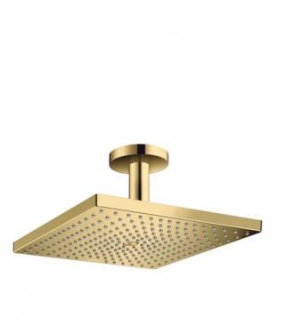 Hlavová sprcha Hansgrohe Raindance strop včetně sprchového ramena leštěný vzhled zlata 26250990 ostatní leštěný vzhled zlata
