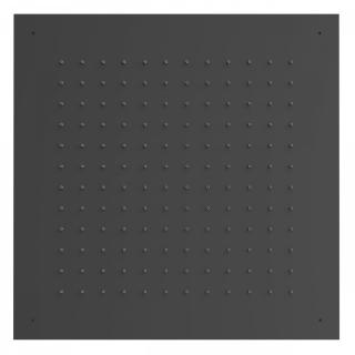 Hlavová sprcha Tres 500x500, černá mat černá matná