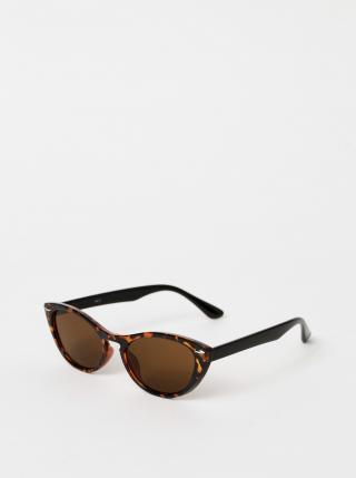 Hnědé dámské vzorované sluneční brýle Haily´s Tamara dámské hnědá