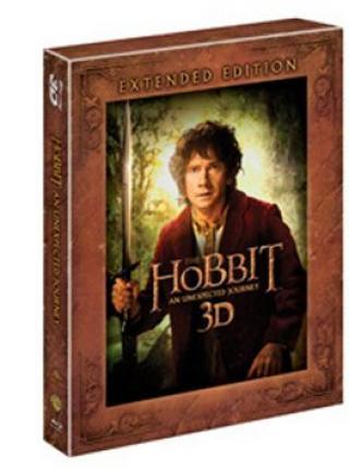 Hobbit Neočekávaná cesta - prodloužená verze  - Blu-ray