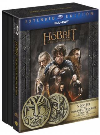 Hobit: Bitva pěti armád - prodloužená verze 5BD  Edice s mincemi - Blu-ray
