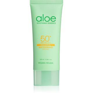 Holika Holika Aloe Soothing Essence hydratační gel na opalování SPF 50  100 ml dámské 100 ml