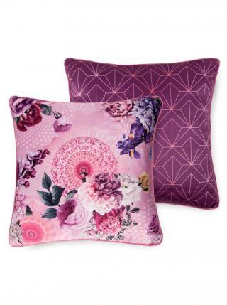 Home dekorativní polštář s výplní Hip Gunilla 48x48 růžová