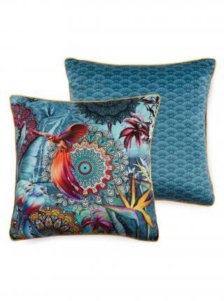 Home dekorativní polštář s výplní Hip Lovise 48x48 modrá