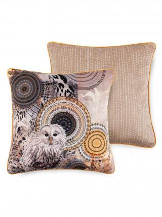 Home dekorativní polštář s výplní Hip Siku 48x48 béžová