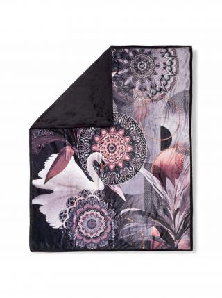 Home oboustranná deka Hip Reidar 130x160 cm černá