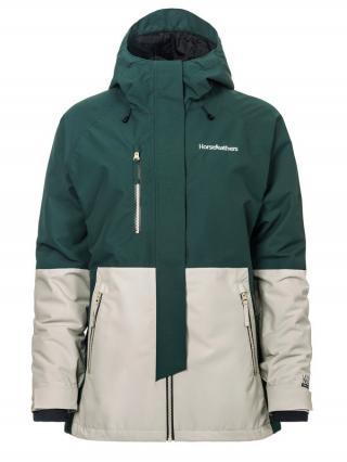 Horsefeathers AIRI SYCAMORE zimní dámská bunda dámské zelená M
