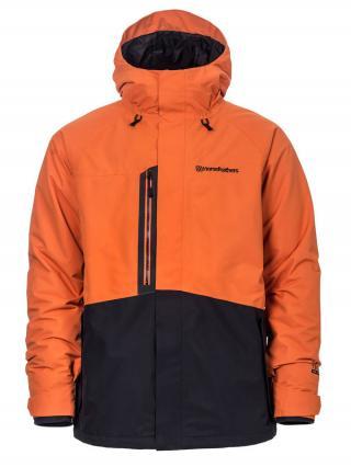 Horsefeathers BARKELL jaffa orange zimní pánská bunda pánské cihlová XL