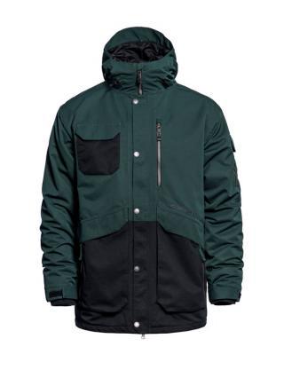 Horsefeathers BARNETT deep green zimní pánská bunda pánské zelená L