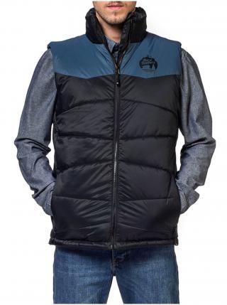 Horsefeathers CATHODE black zimní pánská bunda - černá pánské M