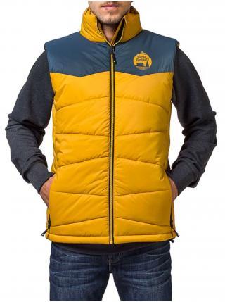 Horsefeathers CATHODE yellow zimní pánská bunda - žlutá pánské S