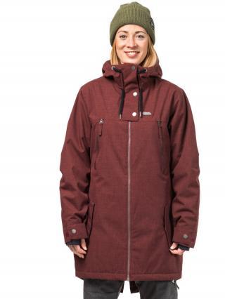 Horsefeathers CHIPY andorra melange zimní dámská bunda dámské vínová XS