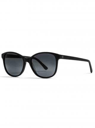 Horsefeathers CHLOE matt black/gray fade out sluneční brýle pilotky - černá dámské