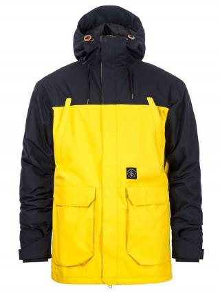 Horsefeathers CORDON ATRIP LEMON zimní pánská bunda pánské žlutá S