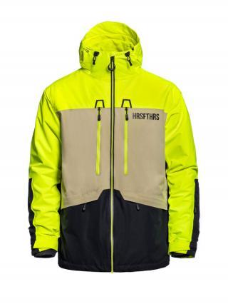 Horsefeathers CRESCENT ATRIP LIMEADE zimní pánská bunda pánské žlutá XXL