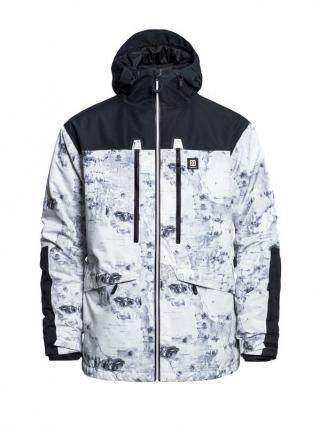 Horsefeathers CRESCENT BIRCH zimní pánská bunda pánské bílá XL