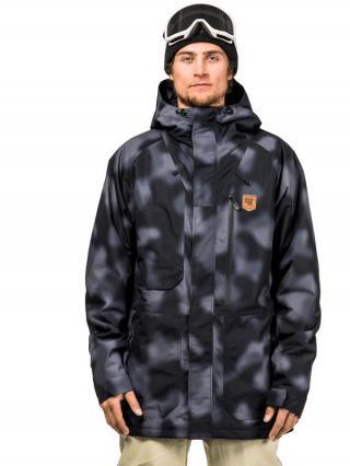 Horsefeathers GOSLING jetfighter camo zimní pánská bunda pánské šedá XL