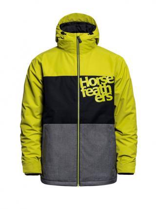 Horsefeathers HALE oasis zimní pánská bunda - černá pánské hořčicová XS