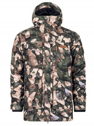 Horsefeathers HERALD tree camo zimní pánská bunda pánské hnědá L