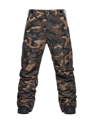 Horsefeathers HOWEL WOODLAND pánské zimní kalhoty pánské khaki M