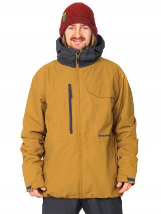 Horsefeathers KAILAS INSULATED  eiki zimní pánská bunda pánské hnědá XL