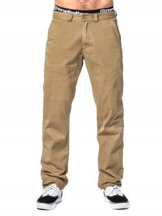Horsefeathers MACKS SAND plátěné kalhoty pánské pánské béžová S