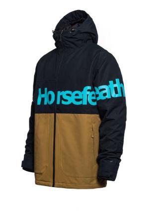 Horsefeathers MORSE medal bronze zimní pánská bunda - černá pánské hnědá XS