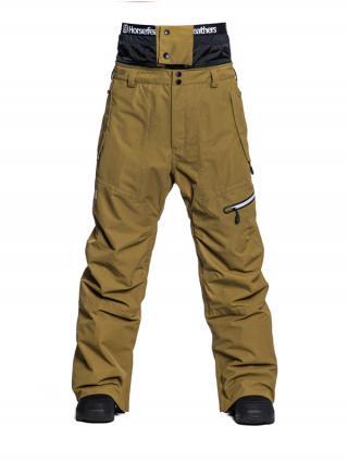 Horsefeathers NELSON DULL GOLD pánské zimní kalhoty pánské hnědá XXL