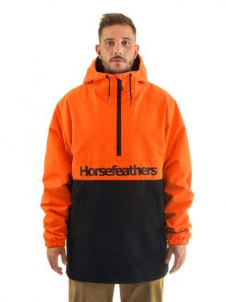 Horsefeathers PERCH flame podzimní bunda pro muže pánské oranžová XL