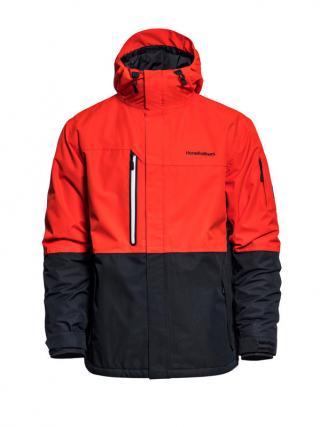 Horsefeathers RIPPLE FIERY RED zimní pánská bunda pánské červená L