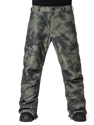 Horsefeathers VOYAGER cloud camo lyžařské kalhoty pánské pánské khaki S