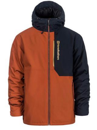 Horsefeathers WRIGHT BRICK zimní pánská bunda pánské hnědá XL