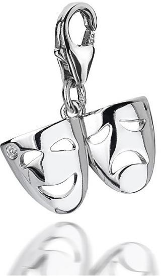 Hot Diamonds Přívěsek Hot Diamonds Smooth Theatre Mask DT275 dámské
