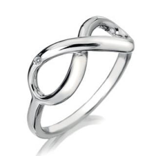Hot Diamonds Stříbrný prsten Hot Diamonds Infinity DR144 51 mm