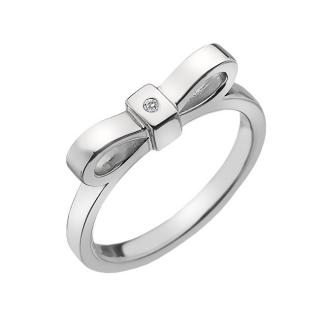 Hot Diamonds Stříbrný prsten Hot Diamonds Ribbon DR196 55 mm