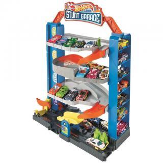 Hot Wheels city přenosná garáž