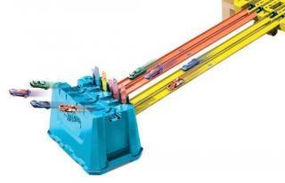 Hot Wheels track builder box super sešup