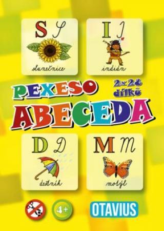 Hra Pexeso - Abeceda - OTAVIUS