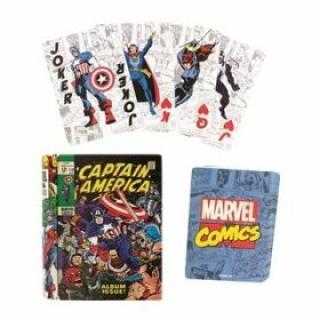Hrací karty Marvel
