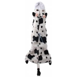 Hračka dog fantasy skinneeez návlek na láhev kráva 60cm